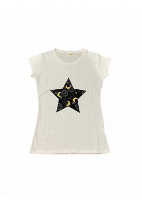 T-shirt Vicolo con stampa...