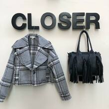 New arrivals..... new collection 🖤 Giacca Haveone €119 Borsa Nali €89 Per info e spedizioni gratuite: Direct o Whatsapp 3495274138 o visita il sito www.closerstore.it  #newcollection #haveone #naliaccessori  • • • 👗 #ootd #outfitoftheday #toptags #lookoftheday #fashion #fashiongram #outfitinspo #outfitgoals #outfitinspiration #currentlywearing #lookbook #metoday #whatiwore #whatiworetoday #ootdshare #outfit #clothes #portraitmood #mylook #fashionista #todayimwearing #instastyle #instafashion #outfitpost #fashionpost #todaysoutfit #fashiondiaries